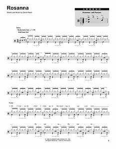 Rosanna Sheet Music Toto Drums Transcription
