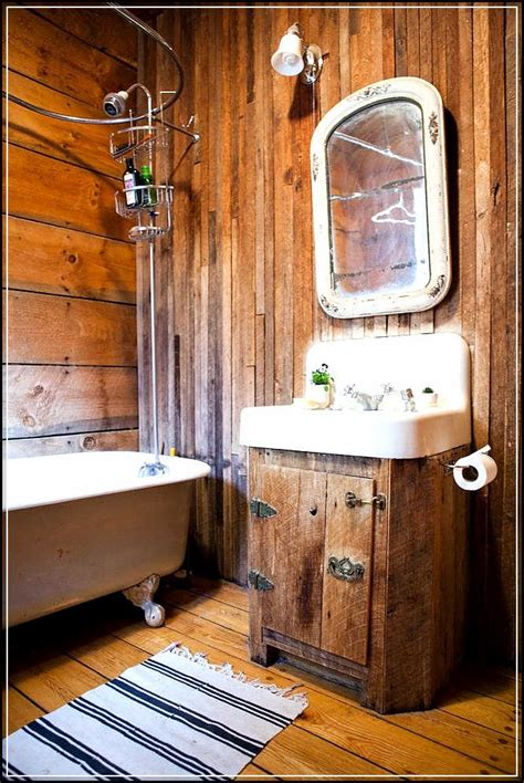 bathroom decor tips to enhance rustic bathroom decor ideas home design Cabin