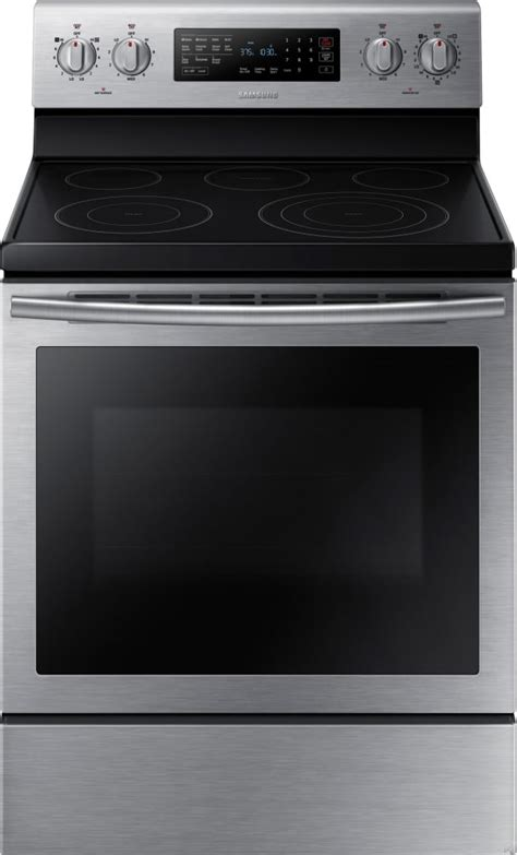 samsung nejss   freestanding electric range   cu ft true convection oven  smoothtop elements     power