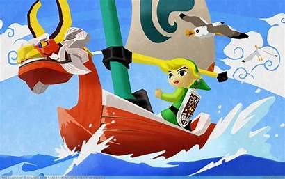 Zelda Legend Windwaker Nintendo Waker Wind Wallpapers