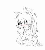 Cute Anime Fox Girl Drawing Easy Anime Collection
