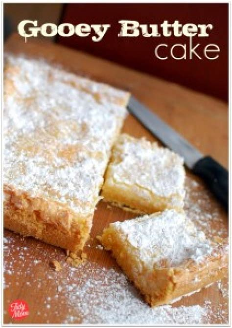 st louis gooey butter cake recipe   pinch recipes