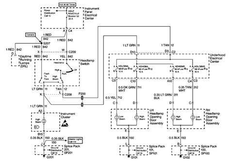 2002 Corvette Wiring Diagram by Headlights Page1 Corvette Forums At Chevy Magazine