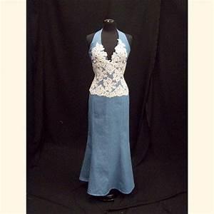 Sat39n spurs western wedding and bridal wear western for Western denim wedding dresses