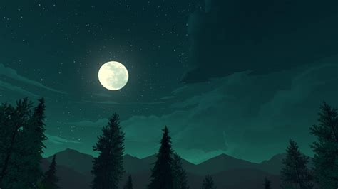 wallpaper firewatch  games game quest horror pc