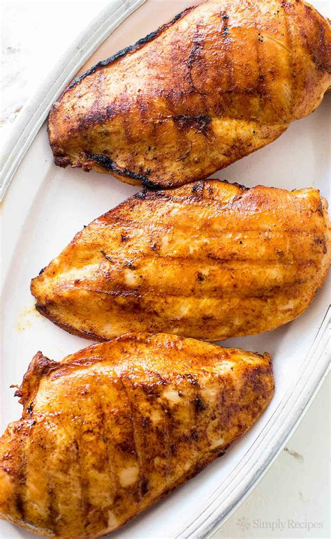 broiled boneless skinless chicken breast the best juicy grilled boneless skinless chicken breasts recipe dishmaps