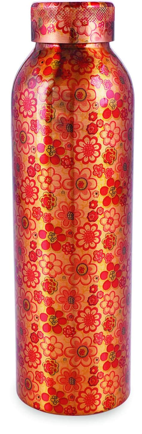 polo  printed copper water bottle  ml