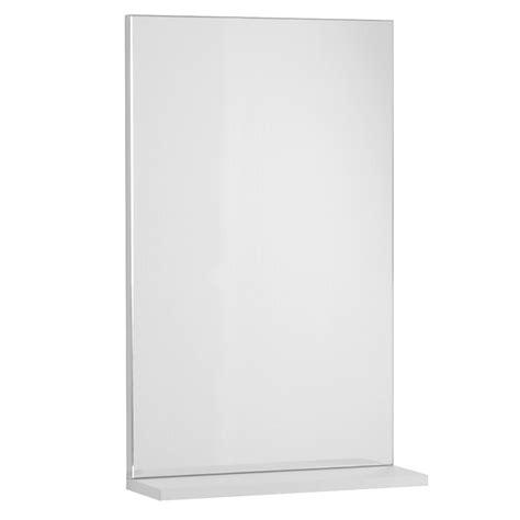 specchio bagno con mensola e specchio con mensola 45x14x70 jolly