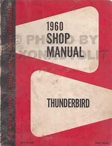 1960 Ford Thunderbird Wiring Diagram Manual Reprint