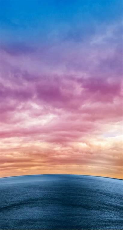 Langit Pemandangan Fantasi Iphone Warna Gambar Warni