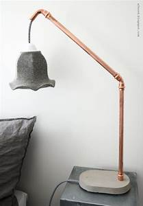 Industrial Copper Wall Lights 10 Practical And Stylish Diy Bedside Lamps Shelterness