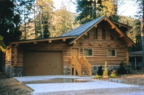 log cabin garage new log cabin garage new home plans design