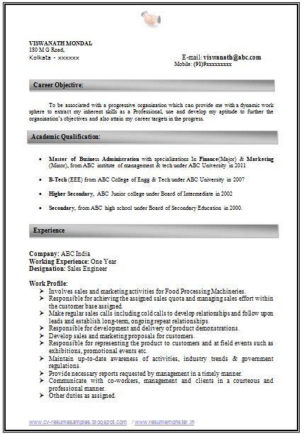 how to write an excellent resume sle template of an