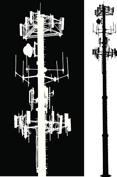 best cell tower illustrations royalty free vector graphics clip art istock