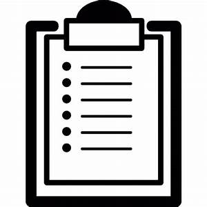 List on clipboard Icons | Free Download