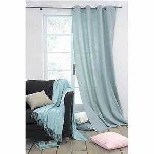 Rideaux Maison Du Monde Occasion : rideau bleu celadon ~ Dallasstarsshop.com Idées de Décoration