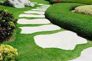 en savoir plus sur la dalle de jardin bricobistro With dalle pour allee de jardin