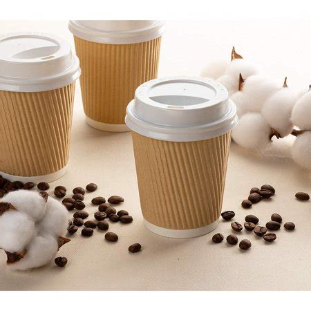 3.4 out of 5 stars, based on 5 reviews 5 ratings current price $13.99 $ 13. Disposable Coffee Cups Set - 100-Pack Kraft Paper 8-Ounce ...