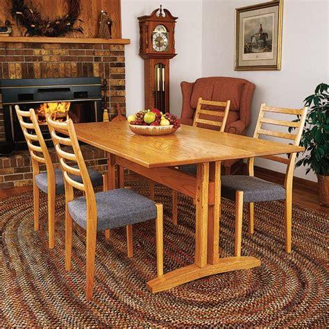 trestle table woodworking plan  wood magazine