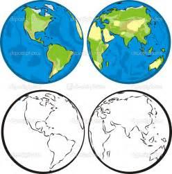 Eastern and Western Hemisphere Globe