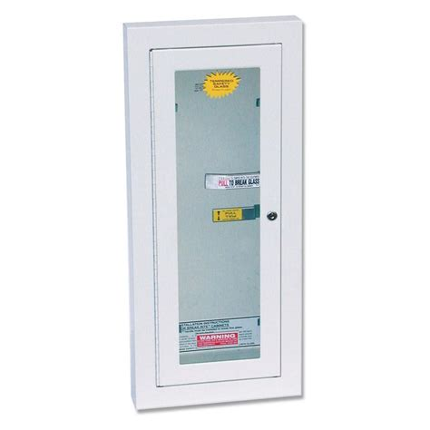 Kidde Semi Recessed Extinguisher Cabinets by View Larger