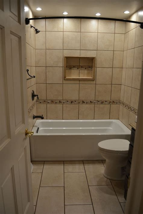 bathroom tub tiles ceramic tile tub surround with niche and mosaic accents