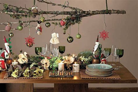 Christmas Tree Branch Christmas Centerpiece Pictures
