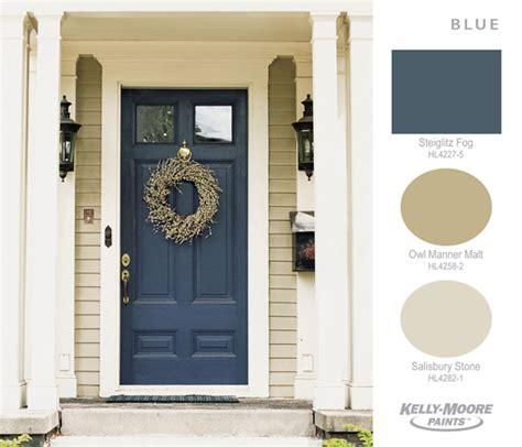 door paint exterior moore beige kelly front colors trends tan doors yellow navy paints painted combinations combos shutter extremehowto garage
