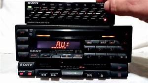 Vintage Sony Cdx Fm  Cd    Xk  Xe