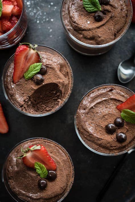 mousse au chocolat rezept fuer original franzoesische