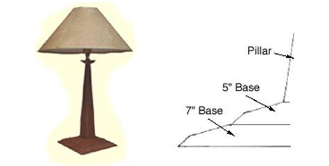 woodwork wood lamp plans   plans