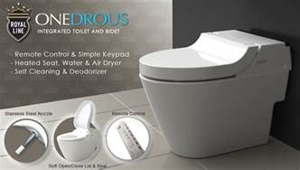 air in kitchen faucet integrated toilet bidet royal line