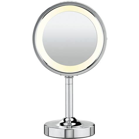 Bathroom Magnifying Vanity Mirrors by Design Cordless Lighted Makeup Mirror Allowing You To