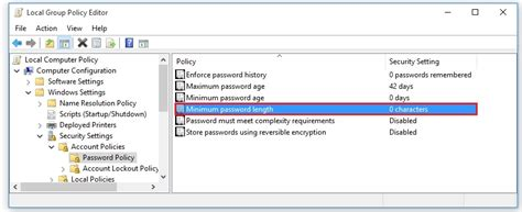 You just go to gpedit.msc computer configuration > security settings > password policy > password must meet. Gpedit Blank Passswords : How to use the Group Policy ...