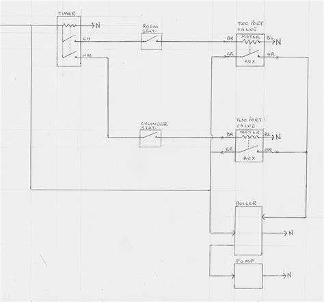 wiring diagram for unvented cylinder