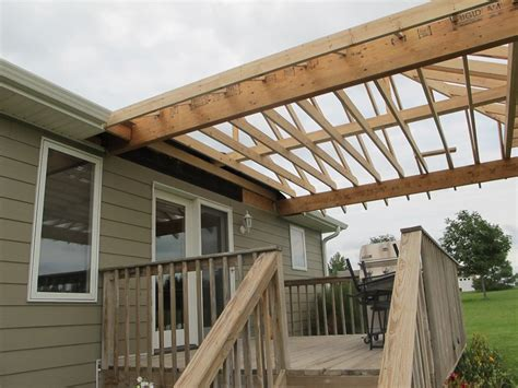 How To Put A Roof On My Deck  Best Home Design Interior