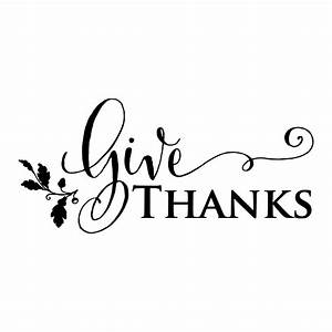 Give Thanks Acorn Wall Quotes™ Decal WallQuotes com