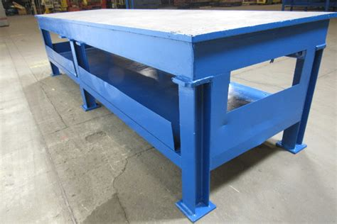 heavy duty steel weld layout assembly work table