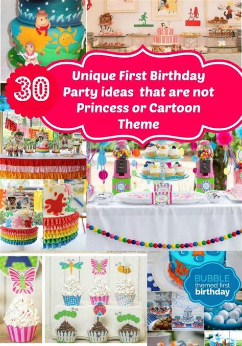 unique birthday party ideas for no princess