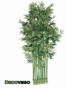 Arbre Artificiel Pas Cher : bambou plante arbre artificielle brise vue 200cm avec bois v ritable decovego ebay ~ Teatrodelosmanantiales.com Idées de Décoration