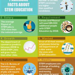 interesting facts  stem education visually