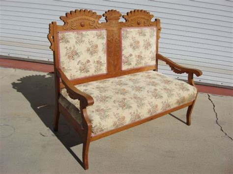 Antique Benches And Settees by American Antique Settee Sofa Bench Eastlake