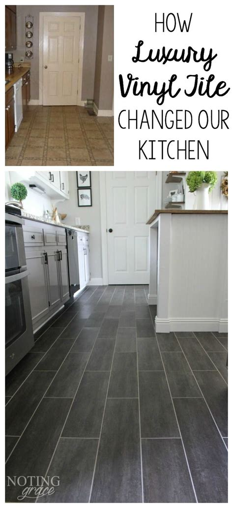 vinyl tile in kitchen diy kitchen flooring kitchen ideas luxury 6907