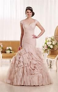 timeless and classy blush wedding dresses With blush wedding dress