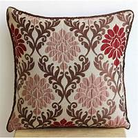 throw pillows for couch Handmade Brown Throw Pillows Cover 16x16 by TheHomeCentric ...