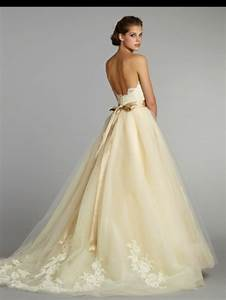 Cream colored wedding dress violet buttercup pinterest for Cream color wedding dresses