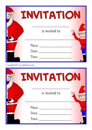 invitation writing frames  printable page borders ks