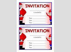 Invitation Writing Frames and Printable Page Borders KS1