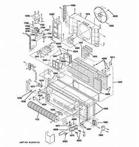 Ge Model Az61h07dadm2 Air Conditioner