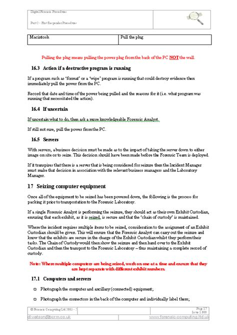 responder cover letter computer forensics report exle cover letter sles